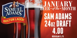 January Beer Of The Month - Sam Adams