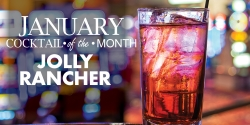 January Cocktail Of The Month - Jolly Rancher