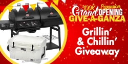 Give-A-Ganza: Grillin' and Chillin' Giveaway