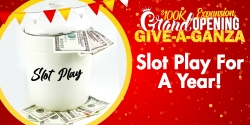 Give-A-Ganza: Slot Play For A Year