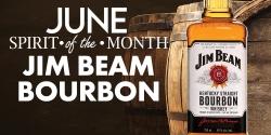 June Spirit Of The Month - Jim Beam Bourbon