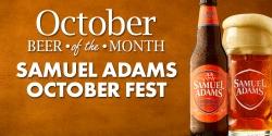 Beer Of The Month - Samuel Adams Octoberfest