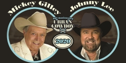 Mickey Gilley & Johnny Lee: 40th Anniversary Urban Cowboy Tour