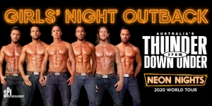 Australia's Thunder From Down Under: Neon Nights 2020 World Tour